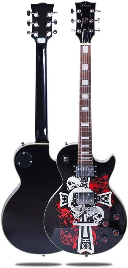 Miiliedy El juego de guitarra eléctrica Ghost Series Performance ...