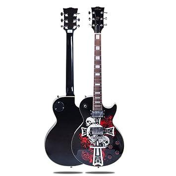 Miiliedy El juego de guitarra eléctrica Ghost Series Performance LP ...