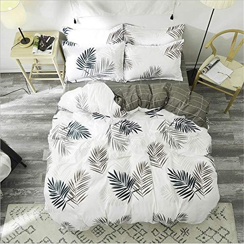 Bed Duvet Cover Bed Flat Sheet Pillow Case Twin Full Queen King Size Bedding Set A 200x230cm (Twin Zebra Duvet Cover)