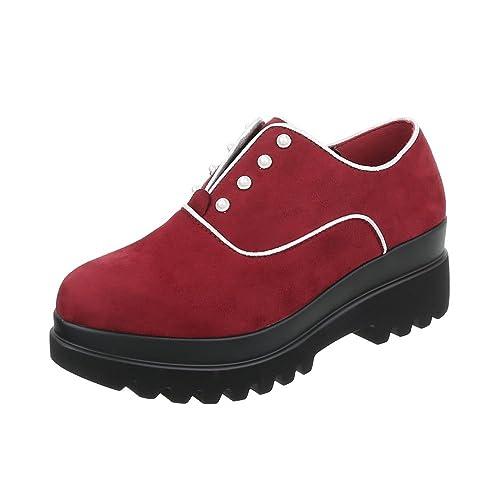 el más nuevo 2b834 6d173 Zapatos para Mujer Mocasines Tacón Ancho Zapatos con ...