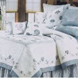 C&F Home Treasures by The Sea Collection Twin Quilt, 66 by 86-Inch