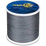 mpeter Armor Braided Fishing Line, Abrasion Resistant Braided Lines, High Sensitivity and Zero Stretch, 4 Strands to 8 Strands with Smaller Diameter