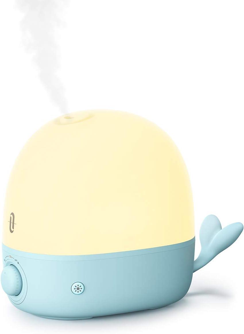 TaoTronics Humidificador Bebé 2.5L, Difusor de Aceites Esenciales ...