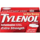 Tylenol Extra Strength Caplets, 500 Mg, 100 Count