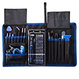 KALAIDUN Precision Screwdriver Set with Magnetic Driver Kit,82 in 1 Professional Electronics Hand Repair Tool Kits for iPhone,Cell Phone, iPad,Tablet,PC,MacBook and Other Electronics