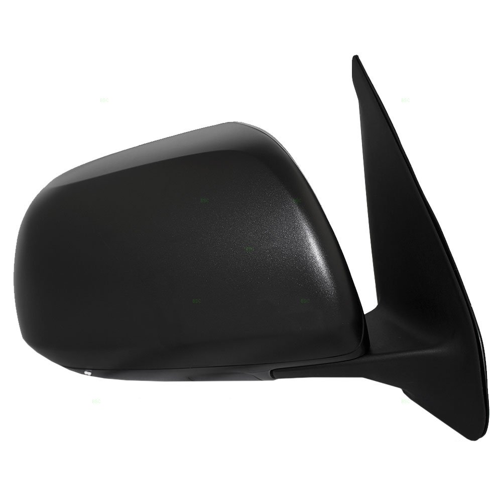 Passengers Manual Side View Mirror Textured Replacement for Toyota Tacoma Pickup Truck 87910-04212