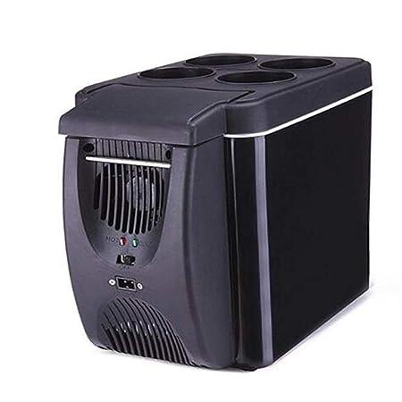 GXFC Mini Nevera 6L Mini refrigerador Refrigerador portátil para ...
