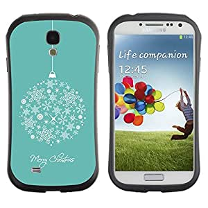 """Pulsar iFace Series Tpu silicona Carcasa Funda Case para SAMSUNG Galaxy S4 IV / i9500 / i9515 / i9505G / SGH-i337 , Feliz Navidad Vacaciones de Invierno"""""""