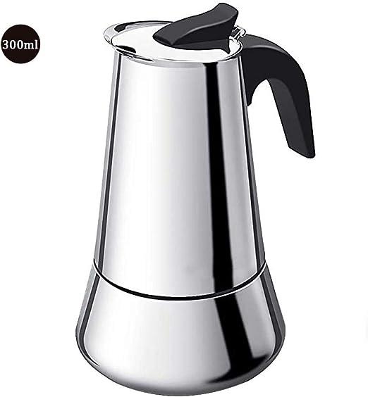 tidystore Cafetera Espresso De Inducción De Acero Inoxidable ...