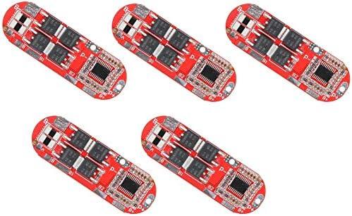 5st 5S 25A 21V Liion Lithium 18650 Opladen BMS PCMbatterijbeschermingsbord
