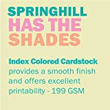 Springhill Ivory Colored Cardstock Paper, 110lb