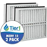 Trane BAYFTAH23M 21x23.5x5 MERV 13 Comparable Air Filter - 2pk