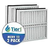Trane FLR06070 American Standard BAYFTFR21M 21x27x5 Merv 13 Replacement Air Filter (2 Pack)