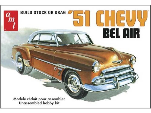 AMT 1:25 Scale 1951 Chevy Bel Air Model Kit from AMT
