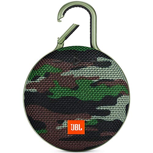JBL CLIP3SQUAD Clip 3 Portable Bluetooth Speaker - Camouflage JBLCLIP3SQUAD