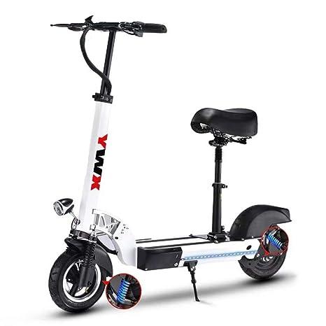ZBB Scooter eléctrico Plegable y Ligero para Adultos ...