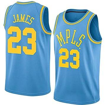 best service 0466c 85cf9 Maglia da Uomo, NBA #23 Lebron James Lakers Retro, Maglia ...