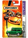 Matchbox '97 Land Rover Defender 110 Metallic Green #55 1/64 Scale Collector by Matchbox