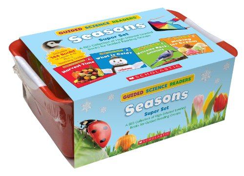 Guided Science Readers Super Set: Seasons: A BIG Collection of High-Interest Leveled Books for Guided Reading Groups by Scholastic (Image #1)