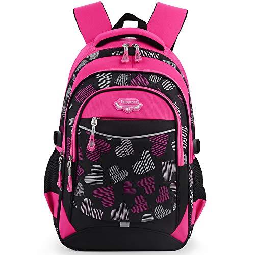 Backpack for Girls, Fanspack Kids School Backpack 2019 New Girls School Bags Bookbags en Nylon (Best Backpacks For Middle School 2019)