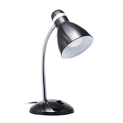 Lámpara de mesa de protección ocular Lámpara de escritorio negra ...