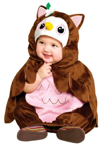 [Fun World Give A Hoot Owl Costume (Infant/Toddler Size)] (Infant Owl Halloween Costumes)