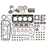 Evergreen Engine Rering Kit FSBRR5033EVE\0\0\0 00-05 Dodge Chrysler Plymouth 2.0 SOHC ECB Full Gasket Set, Standard Size Main Rod Bearings, Standard Size Piston Rings
