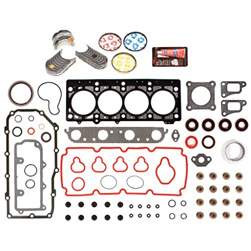 Evergreen Engine Rering Kit FSBRR5033EVE\0\0\0 Fits 00-05 Dodge Chrysler Plymouth 2.0 SOHC ECB Full Gasket Set, Standard Size Main Rod Bearings, Standard Size Piston Rings ()