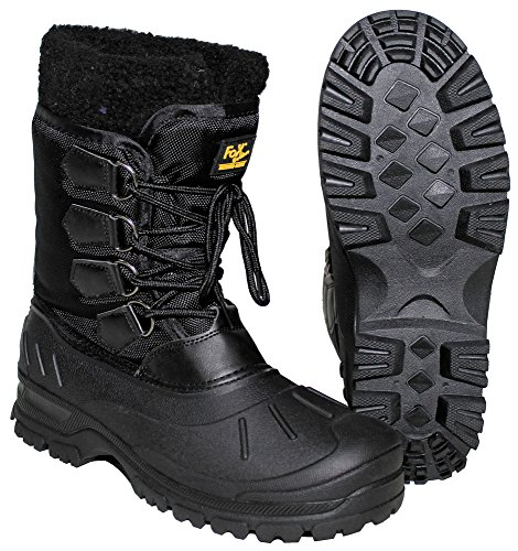 Max Cold Tactical Size black Weather Fuchs Boots 47 laced B6gqwFB
