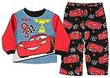 Disney Toddler Boys' Pixar Cars 3 Lightning McQueen Fleece Pajama Set (2T)