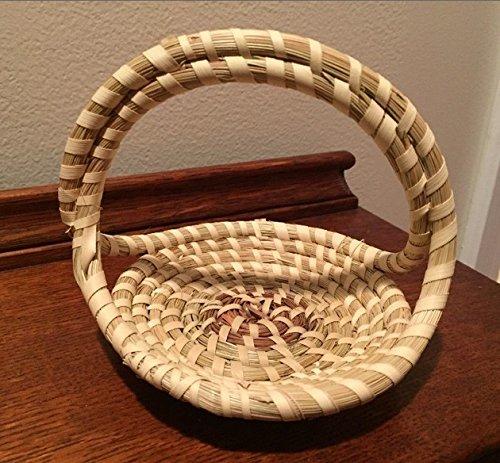 Gullah Sweetgrass Small Basket
