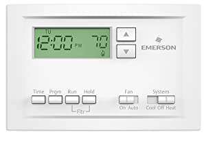 Emerson P210 Single Stage 5-1-1 Day Programmable Thermostat