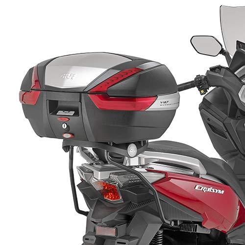 17-18 GIVI SR7056 Portapacchi posteriore per bauletto MONOKEY o MONOLOCK SYM Cruisym 300