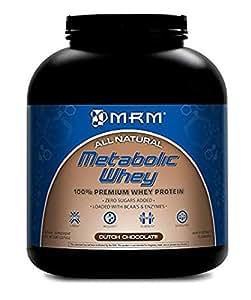 MRM Metabolic Whey Protein, Dutch Chocolate, 5lb