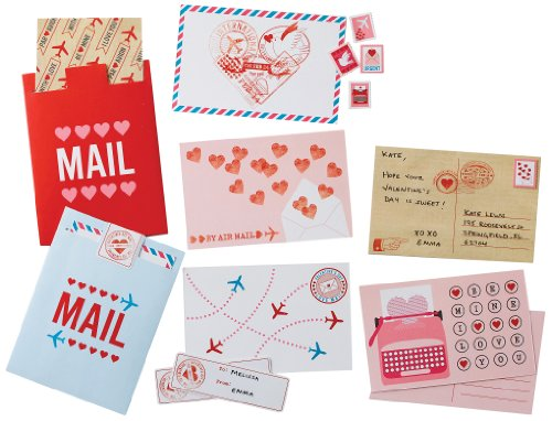 Martha Stewart Crafts Mailbox Valentine Card Kit