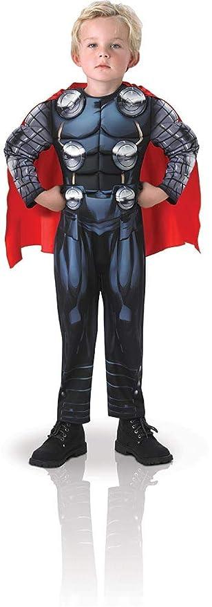 Avengers - Disfraz de Thor Deluxe para niño, 7-8 años (Rubies 610736-L)