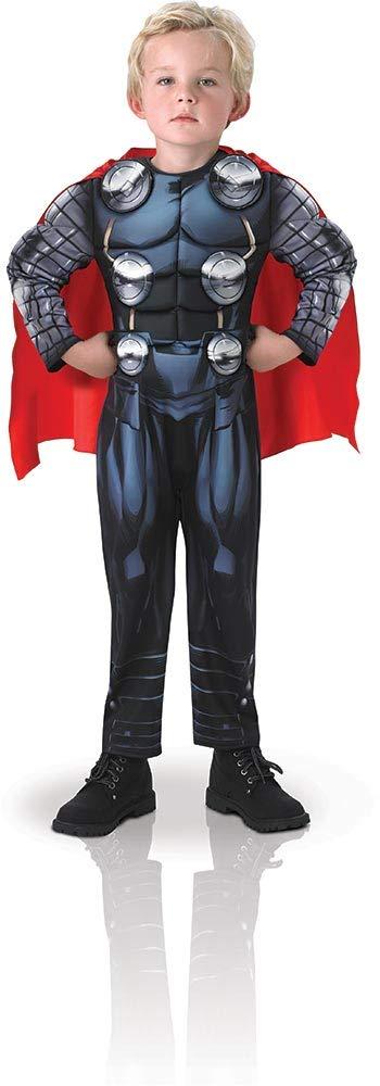 Avengers - Disfraz Thor Deluxe infantil, M (Rubie's Spain 610736-M) product image
