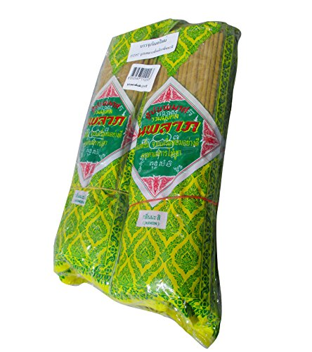 Full Funk Thai Bhuddhist Jasmine Scented Incense Joss Sticks 13''x 500pcs by Full Funk
