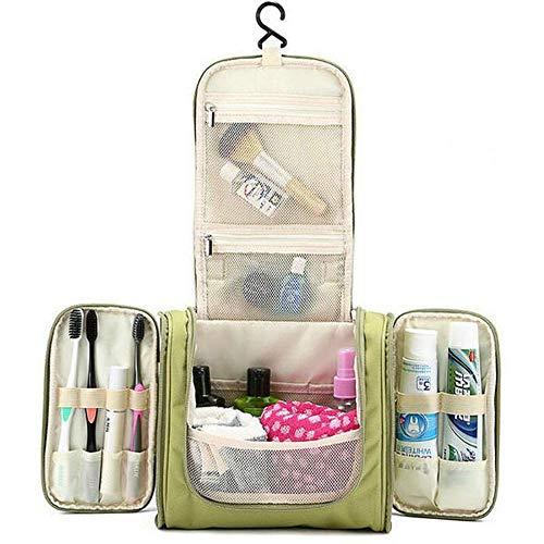 Multifunzione Zipper Toilet Custodia Trucco viaggio Organizer Bags Custodia da Colore Cosmetici beige Taihang gdqx5g