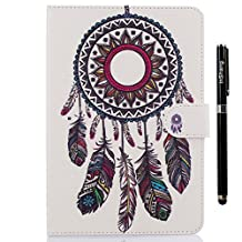 inShang iPad iPad air 2 / iPad 6 case High quality Color Painting cover for iPad iPad air 2 (2014) Multi-function stand case+1pc High end class business stylus Pen