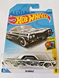 Hot Wheels 2018 Hw Art Cars 5/10 - '64 Impala (White)