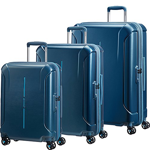 American Tourister Technum 3pc Hardside Expandable Spinner Luggage Set- eBags