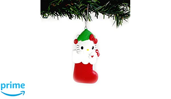 Hello Kitty Kurt Adler Personalizable Ornament Gift Boxed Hello Kitty Stocking