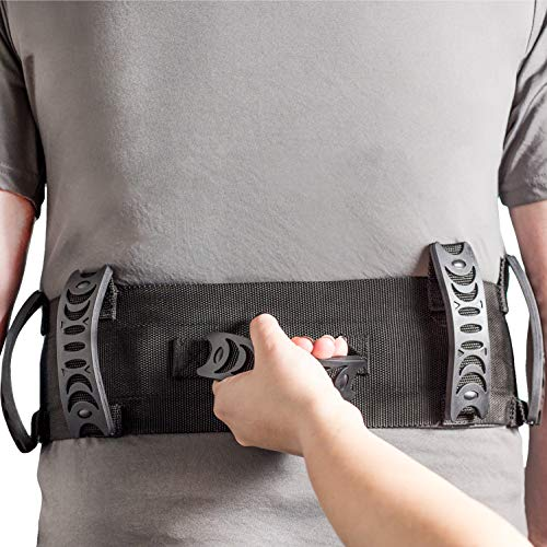 Dr. Moe's Solutions Gait Belt - Redesigned by a Physical Therapist - Gait Belts For Seniors - PT Belt - Gait Belts Transfer Belts - Gait Belt With Handles