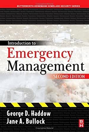 introduction to emergency management Get this from a library introduction to emergency management [brenda d phillips dave m neal gary r webb] -- history and current status of emergency management evolution of emergency management in the united states native american tribes other public sector involvement in emergency management private sector.