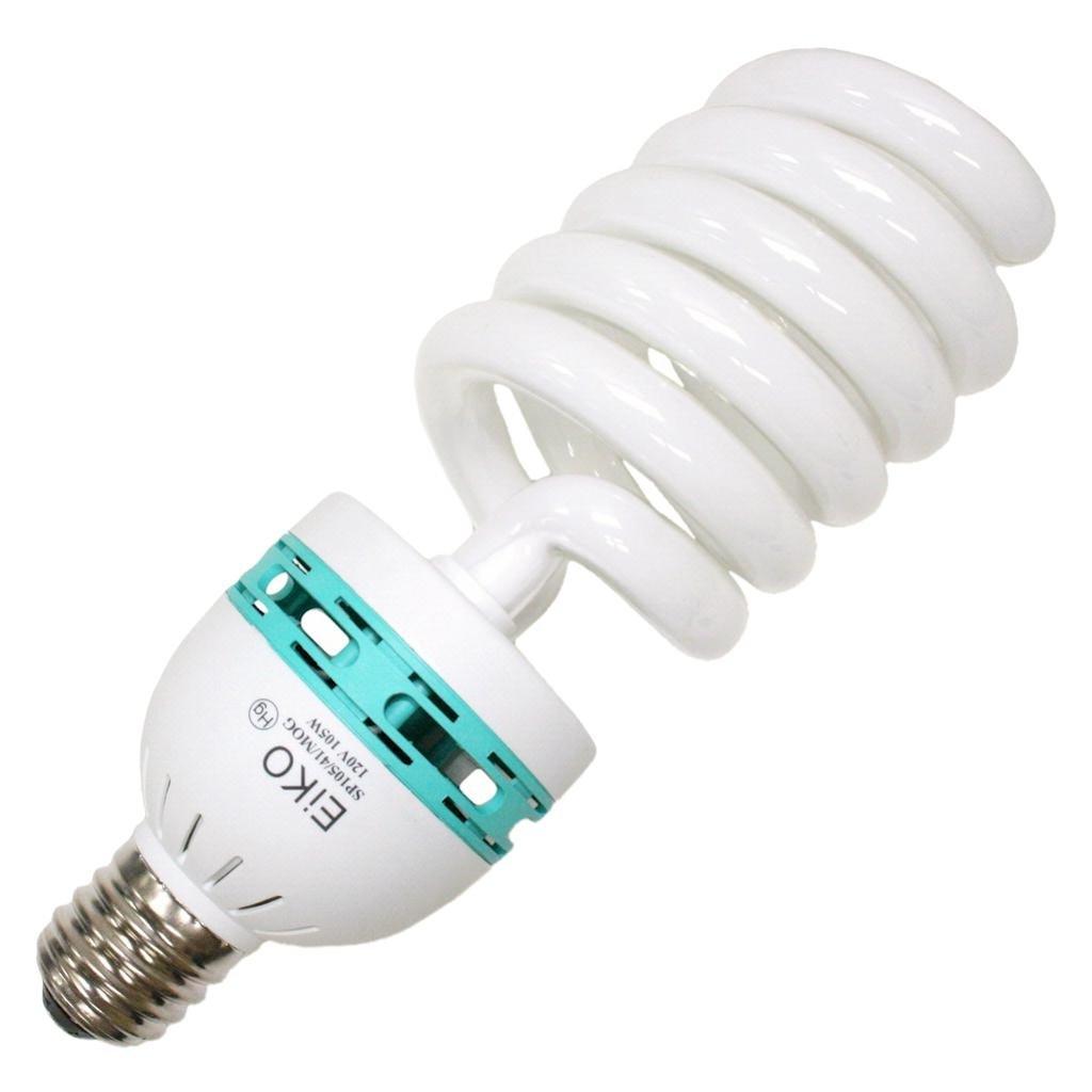 Eiko 81185 - SP105/41/MOG - 105 Watt Spiral Compact Fluorescent, 4100K, Mogul Base