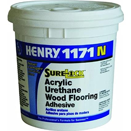 Henry Ww Company 12235 1171n Floor Adhesive 1 Gallon Amazon