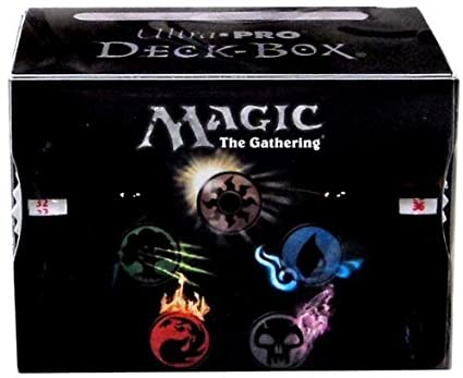 Buy Ultra Pro 86138 Deck Box Mana 4 Symbols With Life Counters
