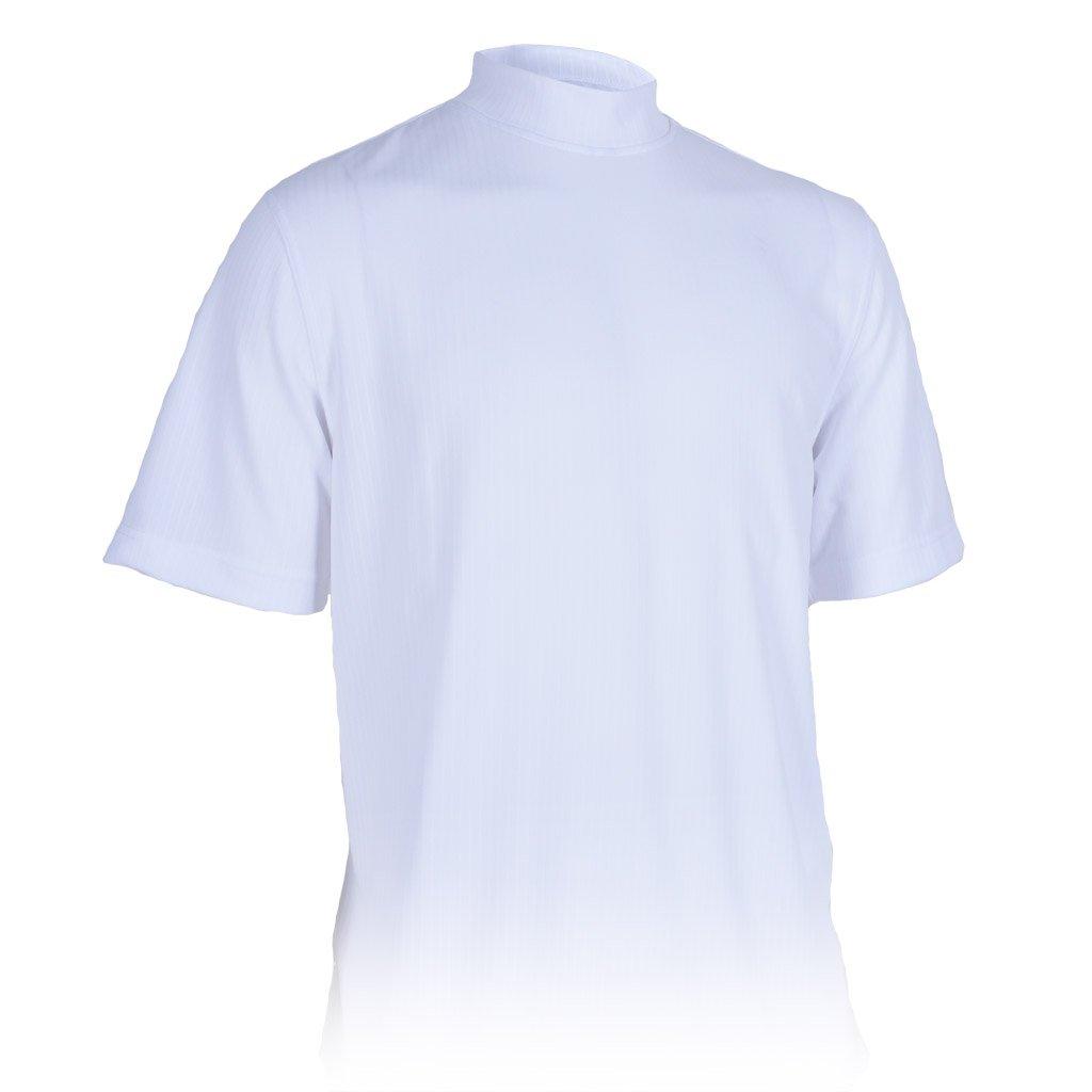 Monterey Club Men's Dry Swing Classic Pique Mock Neck Shirt #3306