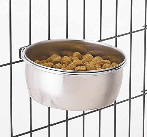 ProSelect Stainless Steel Coop Cups - Versatile Coop Cups for Pet and Animal Cages, 16-Ounce